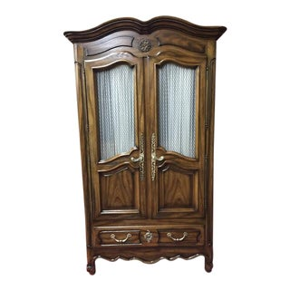 Century Furniture French Provincial Armoire For Sale