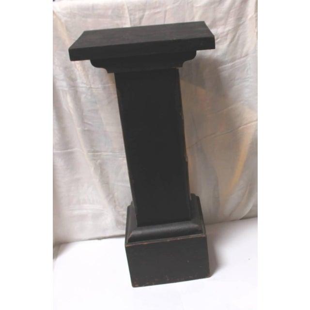 19th Century Masonic Lodge Original Painted Pedestal - Image 5 of 9