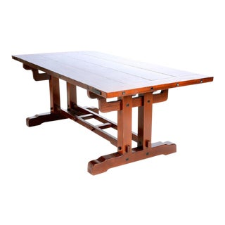 Mission-Style Dining Table