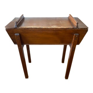 Antique & Rustic Dry Wash Table For Sale