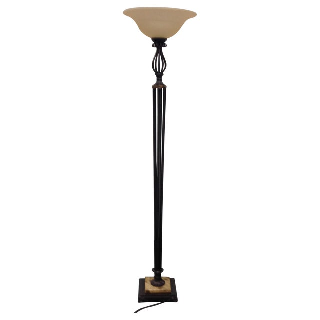 Torchiere Floor Lamp - Image 1 of 7