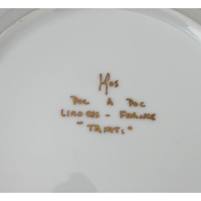 Early 21st Century Poc a Poc Tahiti Fish Design Limoges China Set - 5 Pieces For Sale - Image 5 of 6