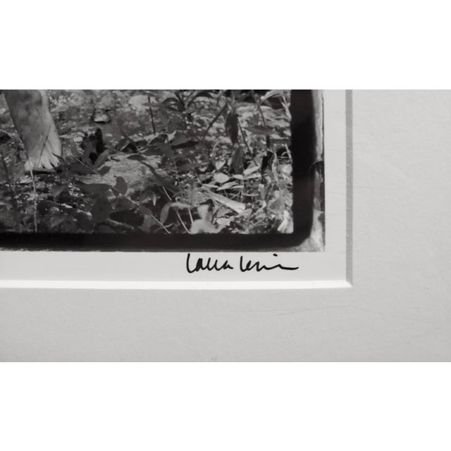 LED Bjork Nude in Woodstock- Photograph Signed by Laura Levine, 1991 For Sale - Image 7 of 10