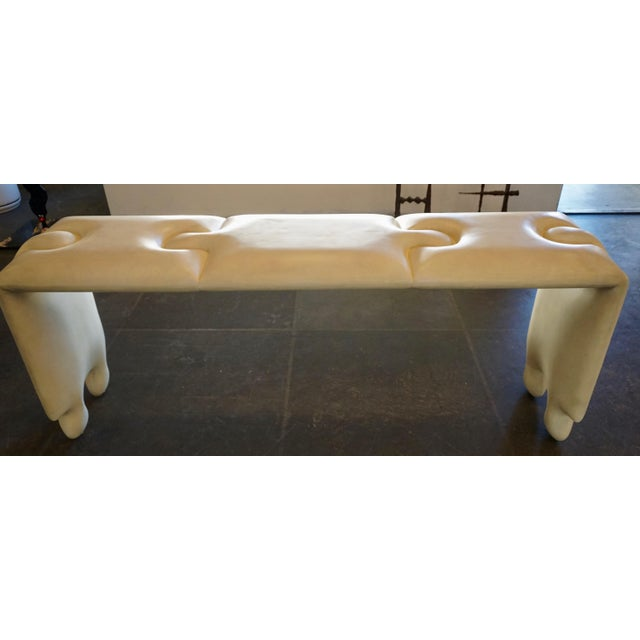 Postmodern Scala Puzzle Console Table For Sale In Palm Springs - Image 6 of 8