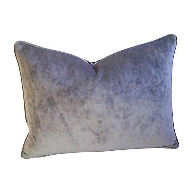 Silver & Black Scalamandre Le Tigre Pillow - Image 2 of 3