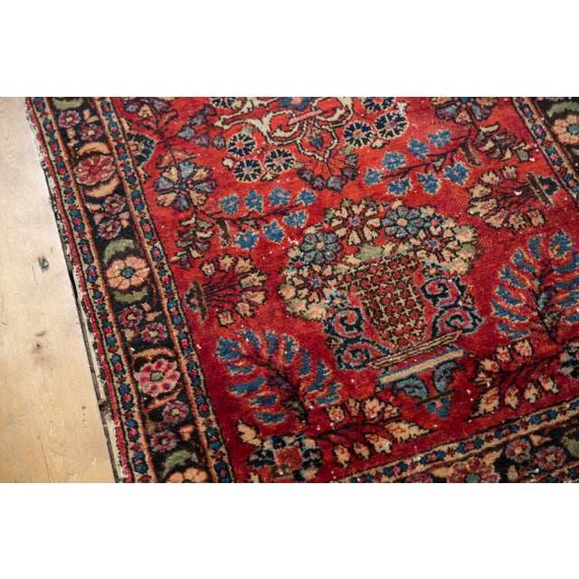 "Vintage Lilihan Rug - 2'8"" X 4'5"" For Sale - Image 9 of 12"