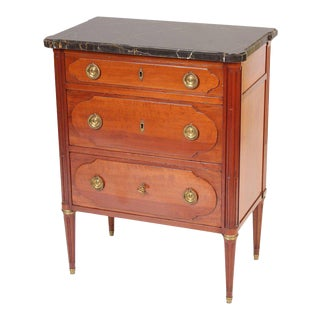Mid-20th Century Louis XVI Style Mahogany Chest of Drawers