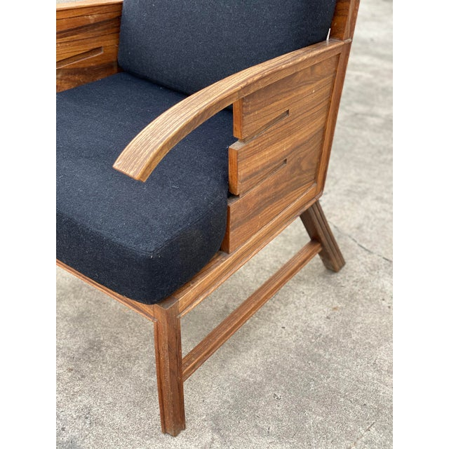 Danish Cabinetmaker Rosewood Armchair For Sale In Houston - Image 6 of 13