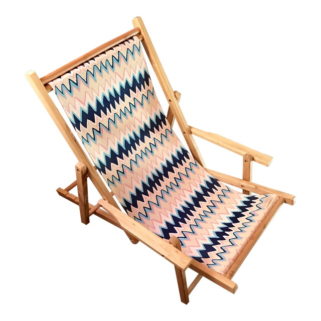 Julie Brown Fold-Up Reversible Printed Chair - Image 1 of 5