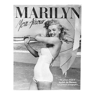 Marilyn Mon Amour: The Private Album of André De Dienes, Her Preferred Photographer For Sale