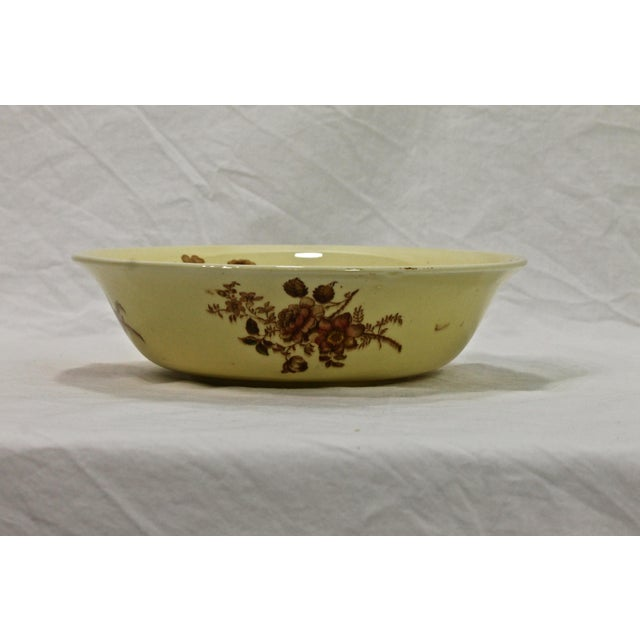 Antique English Staffordshire vegetable bowl in the Charlotte pattern. This bowl is in superb condition for its age....