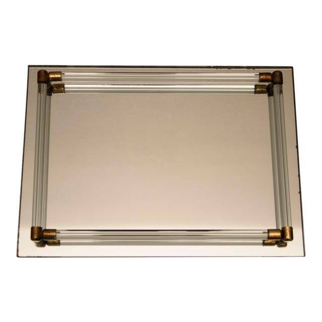 Glass Mirrored Vanity Tray Chairish