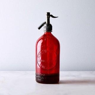 1940s Vintage Decorative Red Seltzer Bottle Preview