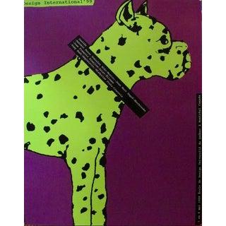 1999 Original Poster Design International - Alfred Halasa For Sale