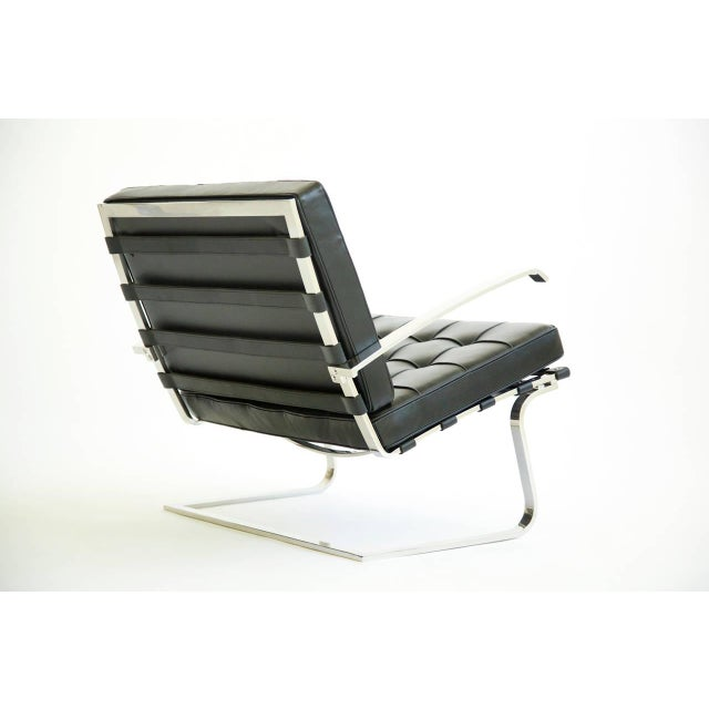 Animal Skin Mies van der Rohe Tugendhat Chairs For Sale - Image 7 of 10