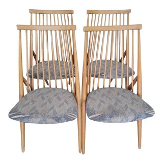 1940s Flamingo Dining Chairs - Set of 4 For Sale