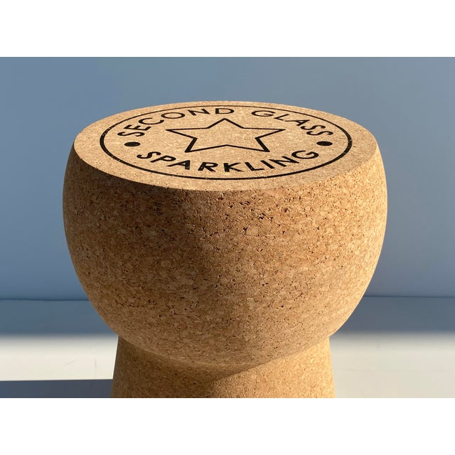 Champagne Cork Stool/Side Table For Sale In Los Angeles - Image 6 of 13
