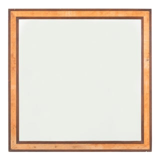 Edward Wormley for Dunbar Mahogany 4977 Square Mirror For Sale