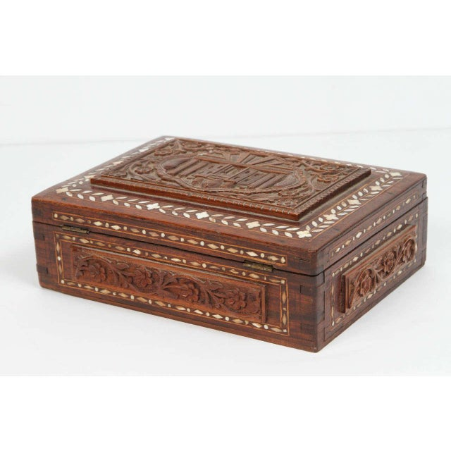 19th Century Anglo-Indian Box For Sale In Los Angeles - Image 6 of 8