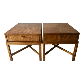 """2 Drexel """"Consensus"""" Mid-Century Side Tables"""
