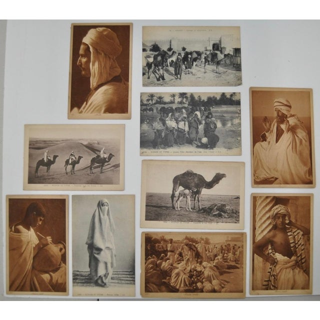 Collection of 10 photograph cards from the famous photo duo Lehnert & Landrock. Lehnert and Landrock travelled through...