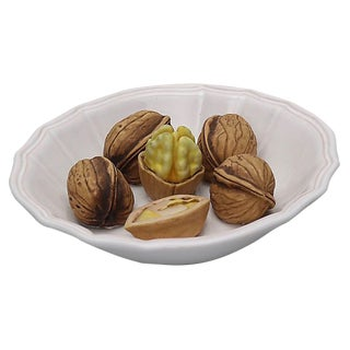 Mid-Century Trompe l'Oeil Bowl of Nuts For Sale