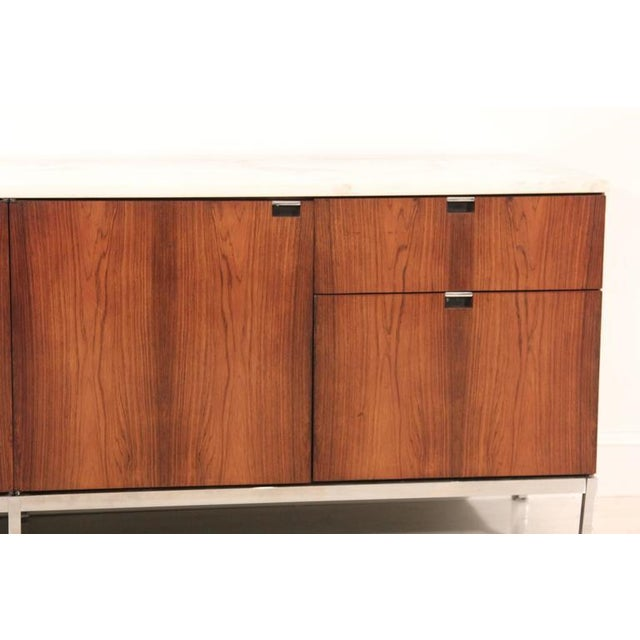 Knoll Rosewood Marble-Top Credenza - Image 3 of 9