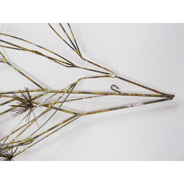 C. Jere Tree Branch Blossom Wall Sculpture - Image 6 of 7