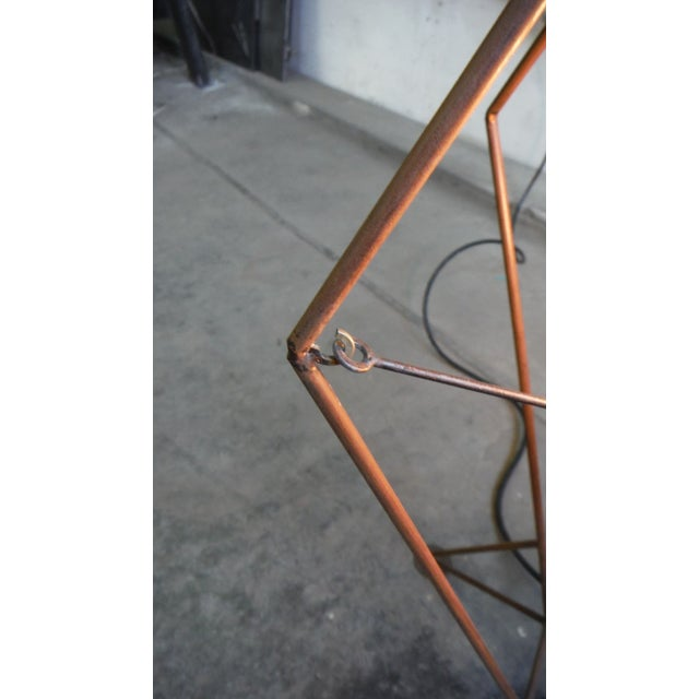 Steel Rod V1 Table Lamp For Sale In New York - Image 6 of 6