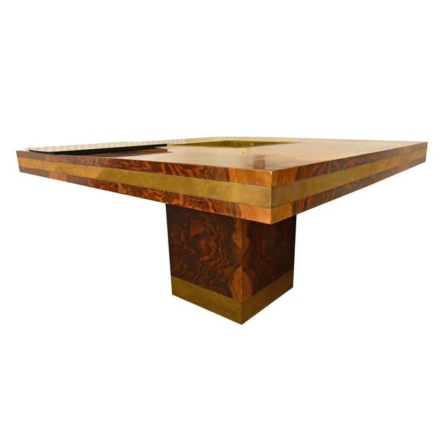 Willy Rizzo Willy Rizzo Dining Table For Sale - Image 4 of 10