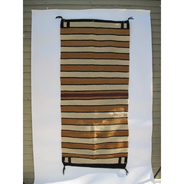 Striped Navajo Rug - 2′6″ × 5′6″ - Image 3 of 10