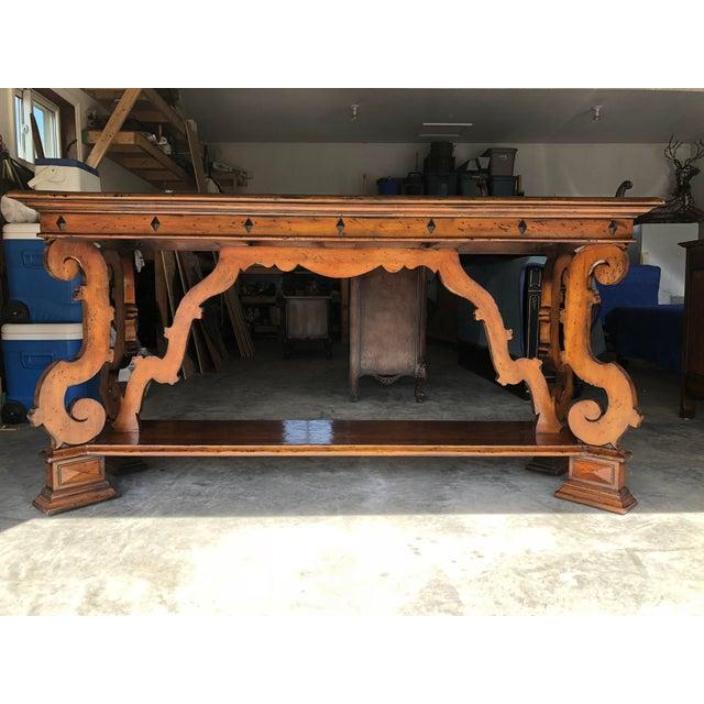 Henredon Castellina Wooden Cradenza - Image 5 of 5