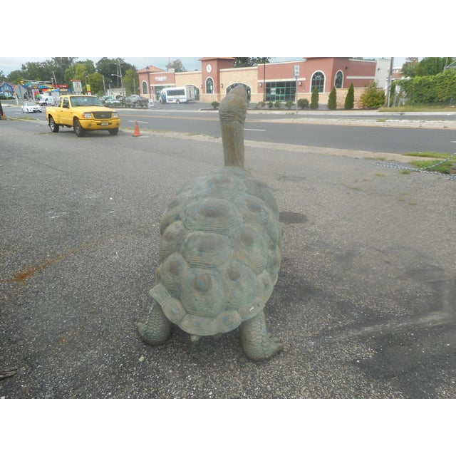 2010s Enormous Bronze Turtle Fountain For Sale - Image 5 of 13