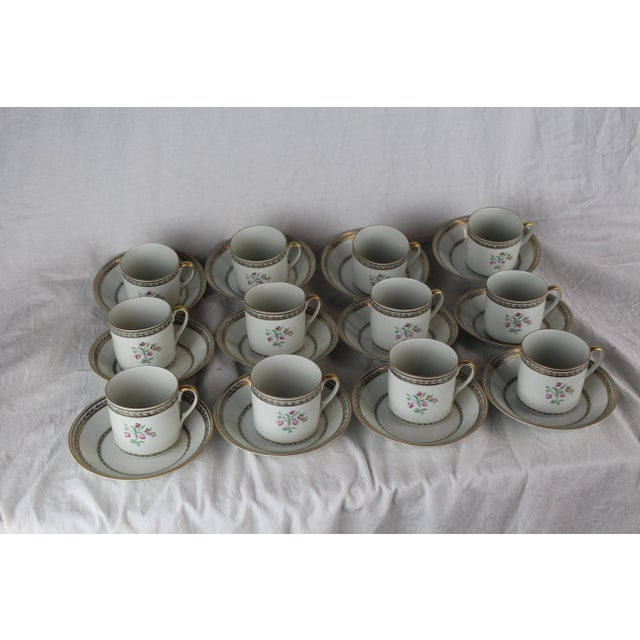 Vista Algere Cups & Saucers - Set of 12 For Sale In New York - Image 6 of 10