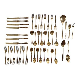 Dirilyte Flatware Set, 46 Pcs For Sale