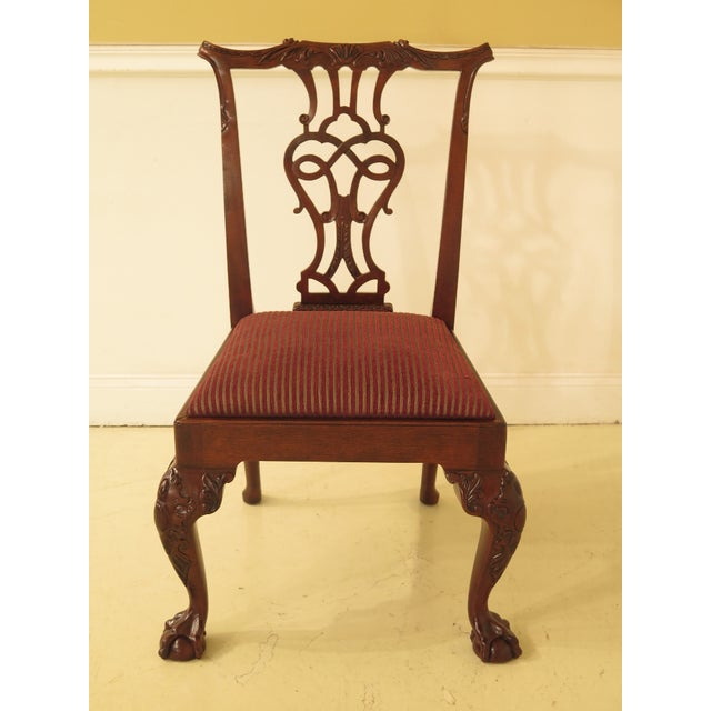 Ball & claw feet. Nice carved details. High quality construction. 18 C. design. Match up with complimenting upholstered...