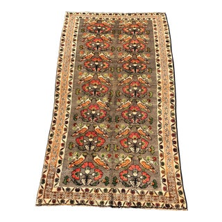 Vintage Persian Gabbeh Rug - 4′8″ × 9′4″ For Sale