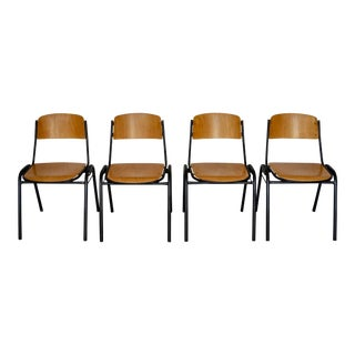 Mid-Century Modern Marko Dutch Dining Chairs - Set of 4 For Sale