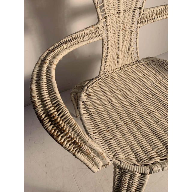 Mid-Century Modern Tropi-Cal Danny Ho Fong and Miller Fong Mid-Century Modern Garden Patio Chair For Sale - Image 3 of 9