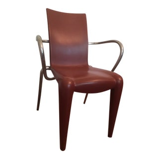 Red Louis 20 Starck Designer Chair For Sale