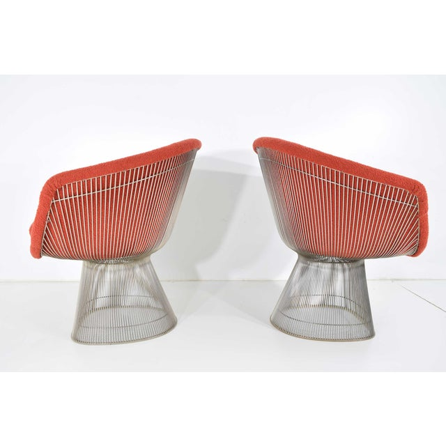 1960s Warren Platner Nickel Plated Lounge Chairs - a Pair For Sale In Dallas - Image 6 of 10