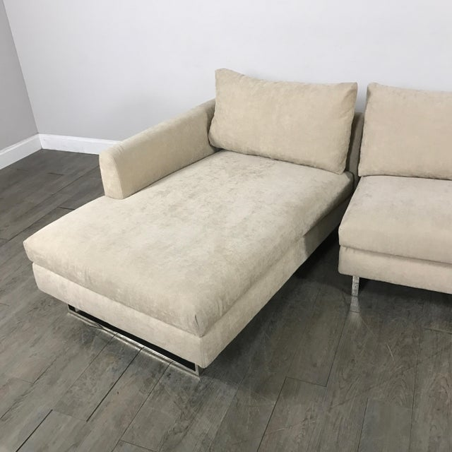 Modern Beige Sectional Sofa - Image 9 of 9