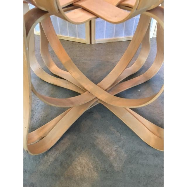 Tan Frank Gehry for Knoll Modern Cross Check Chair For Sale - Image 8 of 11