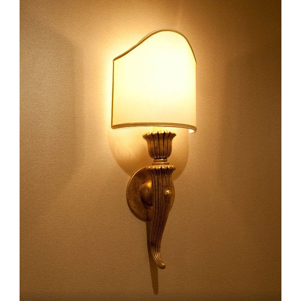 Italian Hand Carved Wood Sconce - Image 2 of 4