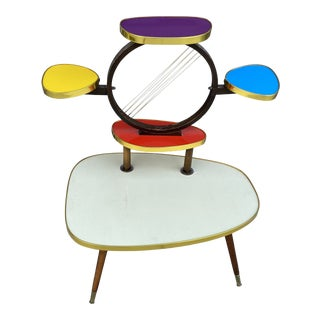 Mid-Century West German Plant Stand For Sale