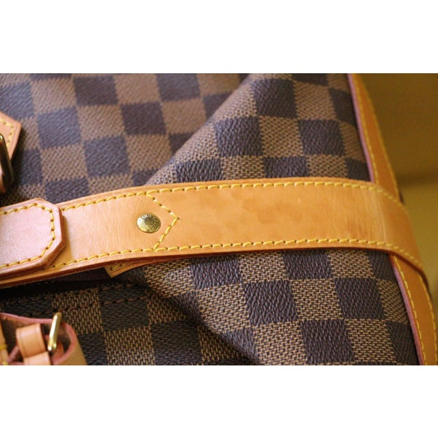 Brown Special Edition Louis Vuitton Travel Bag, Damier Canvas For Sale - Image 8 of 12