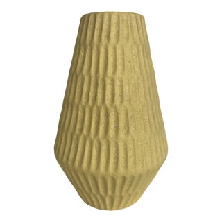 Mid Century Modern West Germany Pottery Vase For Sale