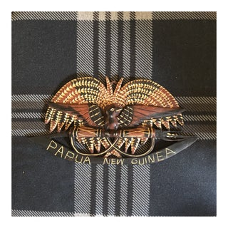 Papua New Guinea Traditional Emblem Carving For Sale