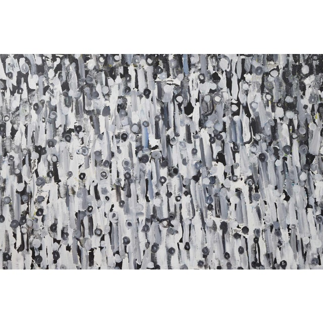 """Larry Locke """"The Crowd"""" Acrylic Painting on Canvas, 2019 For Sale - Image 11 of 12"""