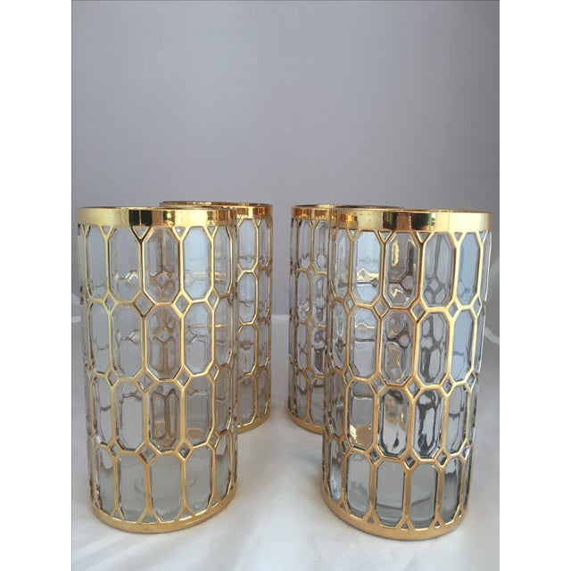 Shoji Spanish Window Highball Glasses - Set of 4 - Image 2 of 3